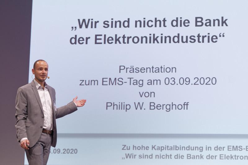 Vortrat Perzeptron zum EMS-Tag 2020